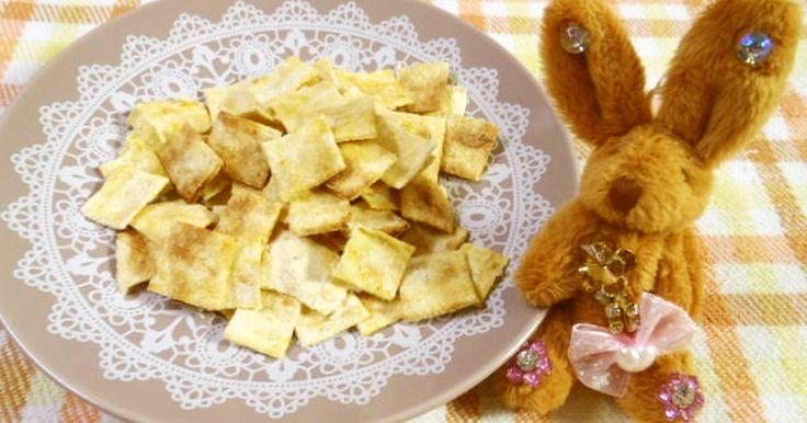 材料は生おからとインスタントスープの素(粉末)だけ!子供も好きなスナック的お味です。✿2012.4.6話題入り感謝✿