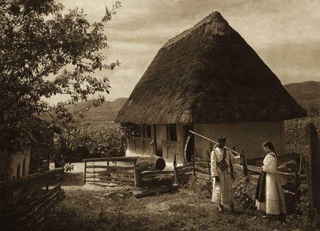 Boinesti,-casa-taraneasca - case traditionale romanesti