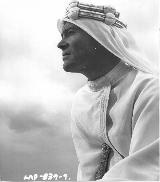"""Peter O'Toole as Lawrence of Arabia. James Mason once said that, Peter was so beautiful in this role, the film could've been called, """"Florence of Arabia""""."""