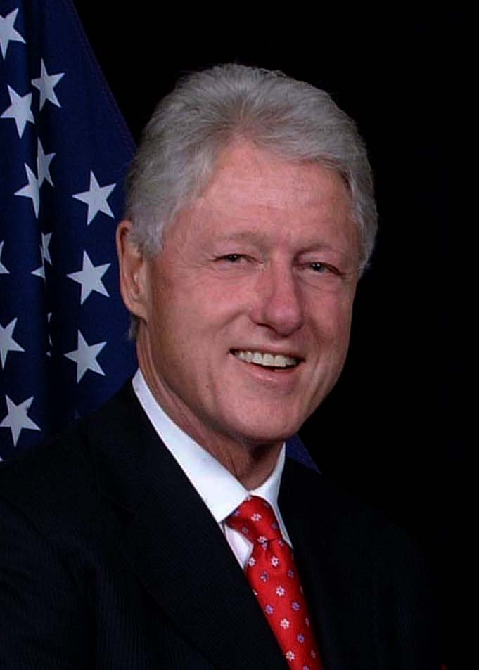 Meet President William Clinton  Term 1993-2001- DONE!!