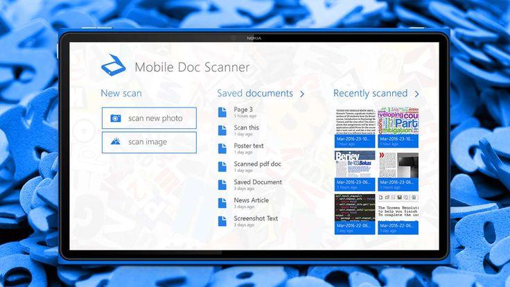 Mobile Doc Scanner: L'app per estrapolare testo da una foto GRATIS per un tempo limitato! http://www.sapereweb.it/mobile-doc-scanner-lapp-per-estrapolare-testo-da-una-foto-gratis-per-un-tempo-limitato/        Mobile Doc Scanner Mobile Doc Scanner è un'applicazione che permette di estrapolare il testo presente su una foto o immagini disponibile su PC e Smartphone Windows: Windows Phone 8.1, Windows 8.1, Windows 10 Mobile e Windows 10.  Di seguito la descrizione dell'a
