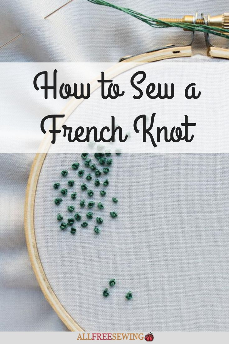 How to sew a french knot french knot embroidery simple