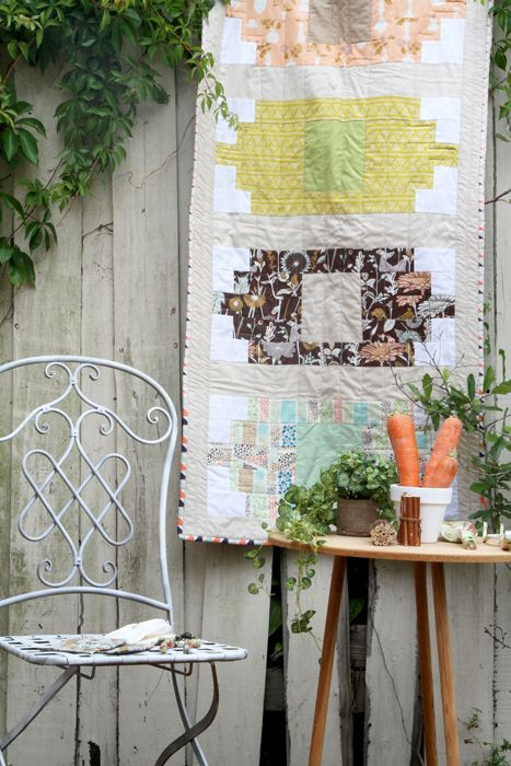 Stepping Stone Table Runner   Free Project From Art Gallery Fabrics