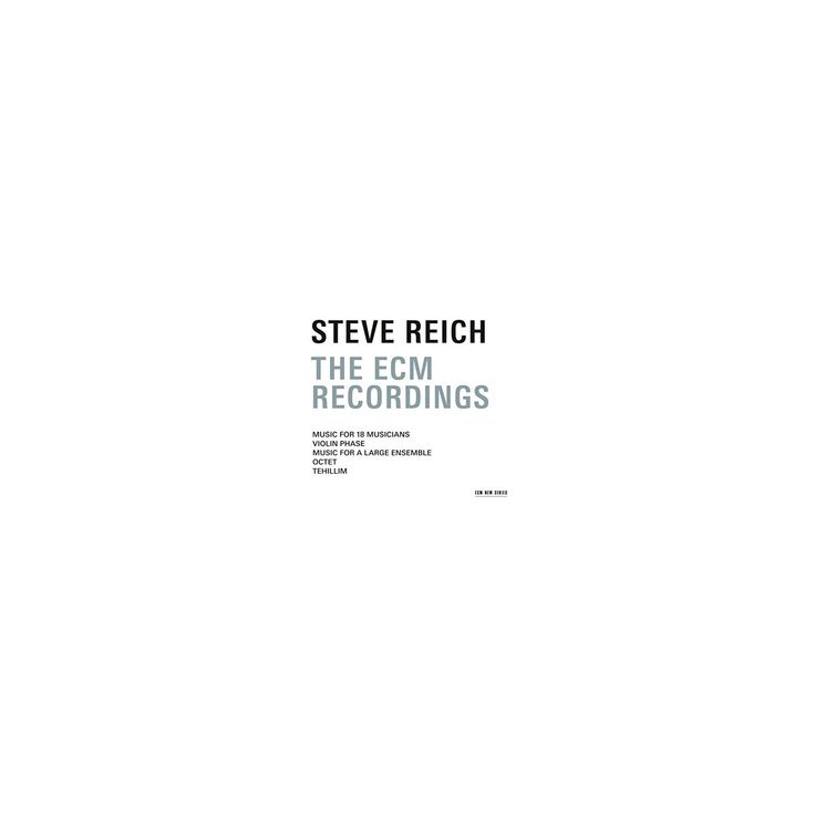 Steve Reich - Steve Reich:Ecm Recordings (CD)