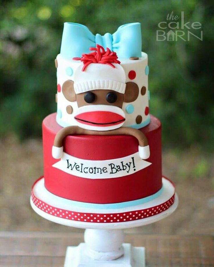 553 best images about Monkey Cakes on Pinterest