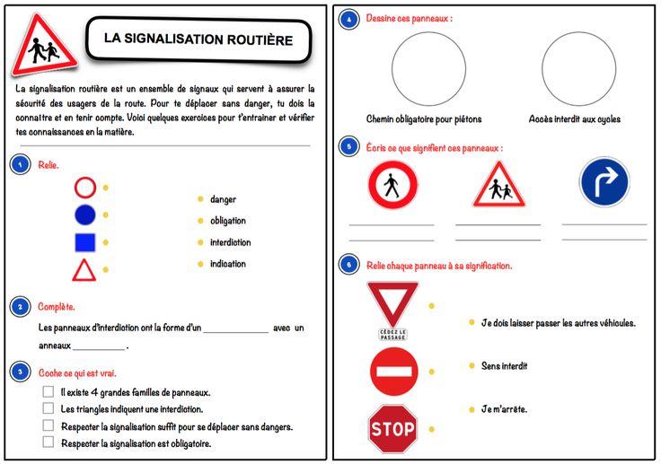 L'objectif de cette séquence est de permettre aux élèves de maîtriser la signification globale de la signalisation routière. Celle-ci se conclut par le passage d'un mini code de la route. ...