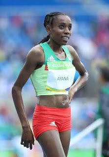 #RIO2016: Ethiopia's Almaz Ayana Smashes The 10000m World Record Set In 1993 And Wins Africa's First Gold Medal