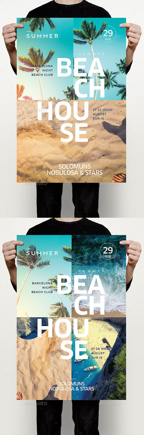 Beach Party Flyer Template PSD. Download here: http://graphicriver.net/item/beach-party-flyer/16757991?ref=ksioks