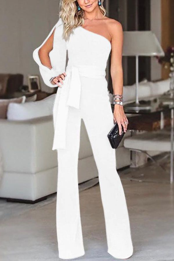 cf18dbe8f6483 one piece pants suit jumpers white pantsuits romper jumpsuits womens chic  playsuits long. Summer Sale Plus Extra 10% off Promo Codes.