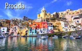 Procida, una delle fantastiche isole italiane in Campania. Offerte Vacanze in Italia.