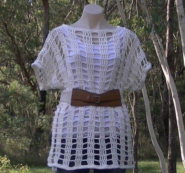 Mesh Summer Top Crochet Tutorial Part 1 of 2