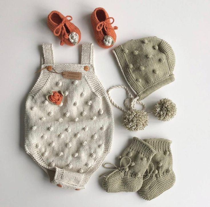 Örgüden En Tarz Bebek Kıyafetleri Örgüden Bebek Tulumları Örgüden Bebek …