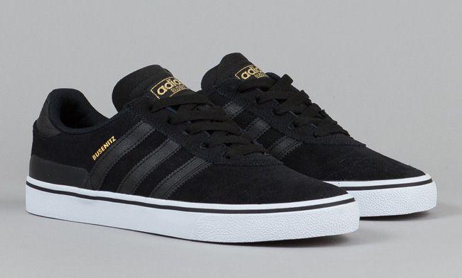 adidas Skateboarding Busenitz Vulc Black, White & Gold
