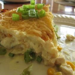Lasagna de pollo @ allrecipes.com.mx