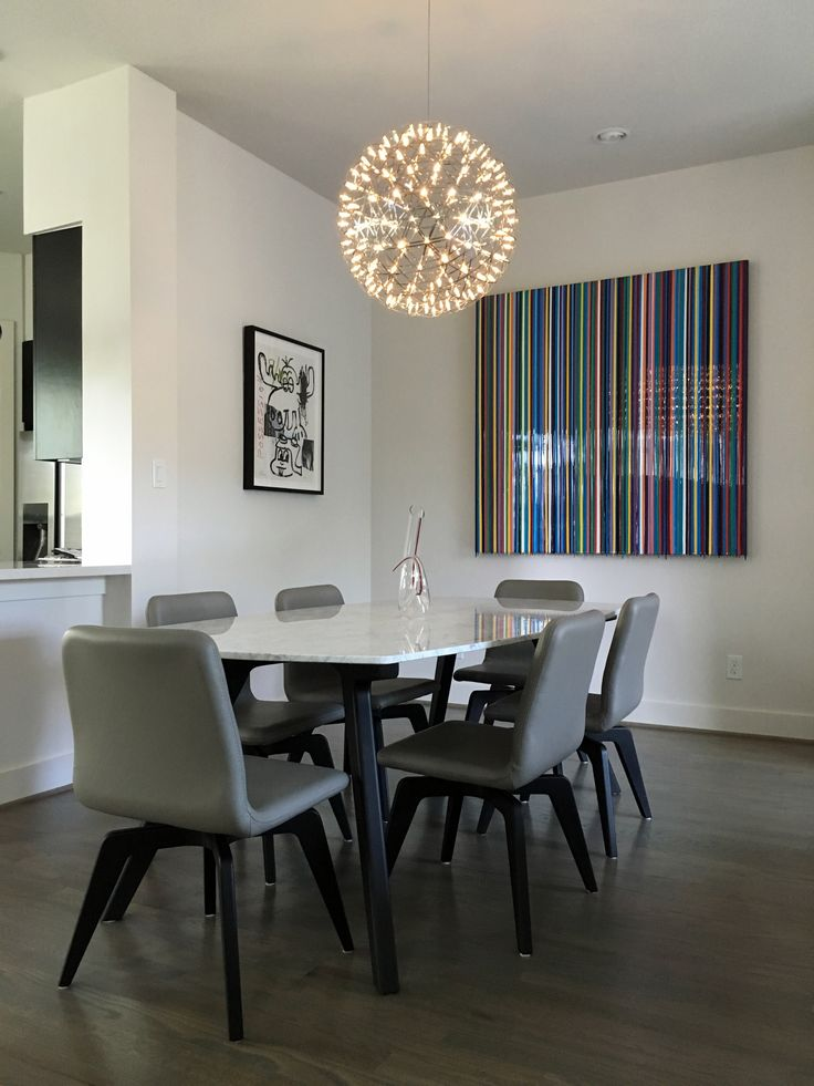 CONTEMPORARY DINING ROOM Human Dining Set Zientte Houston ZientteIndieCollection