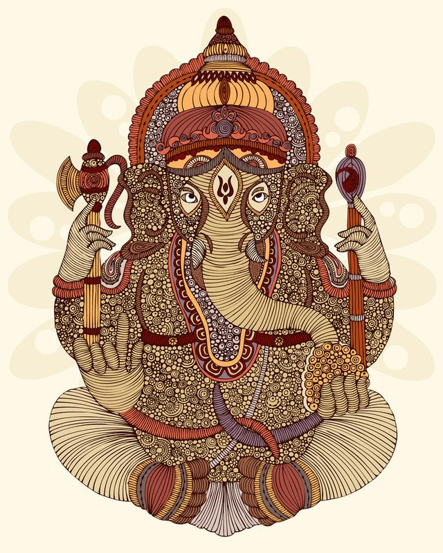 17 Best images about Ganesh god of luck on Pinterest ...