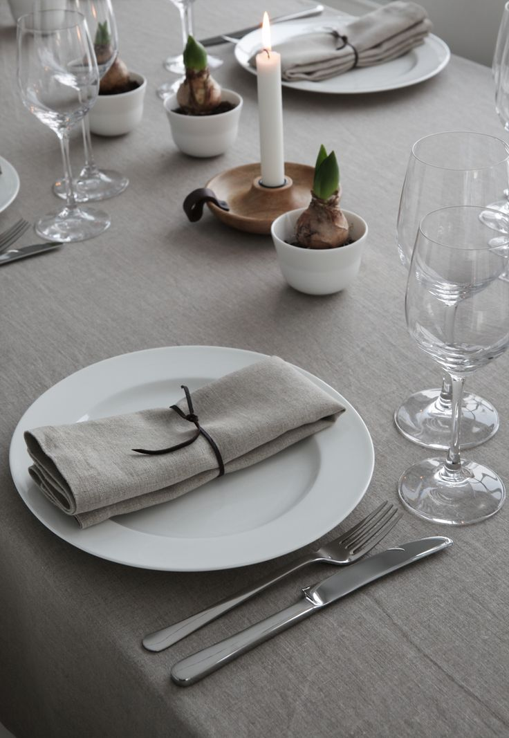 christmas table setting - ELISABETH HEIER
