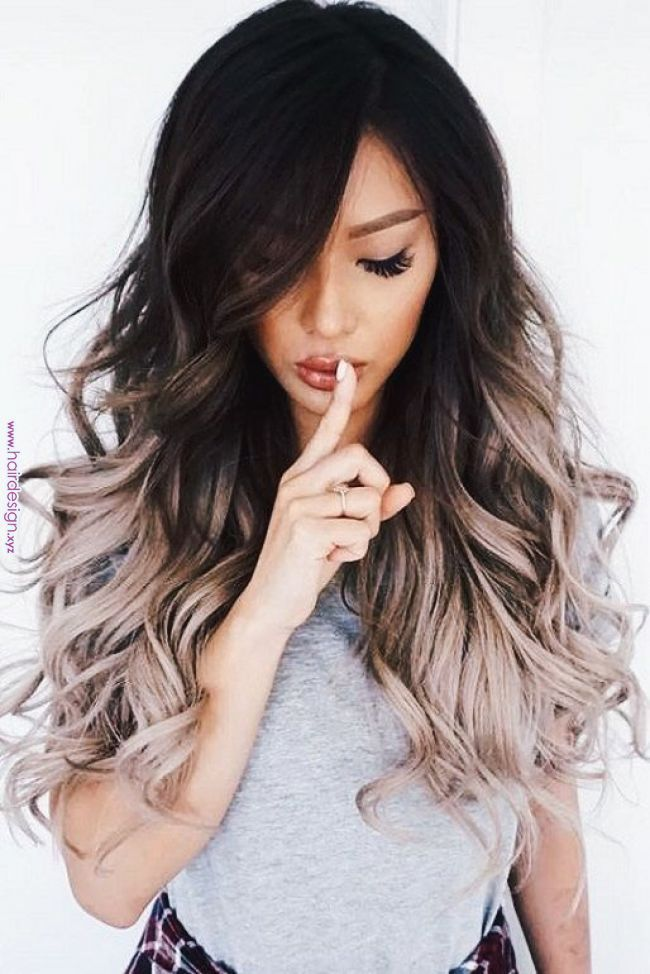 Dramatic Ombre Hairstyle In 2019 Pinterest Hair Hairstyles And Balayage Balayage D Brunette Hair Color Ombre Hair Color For Brunettes Dark Ombre Hair
