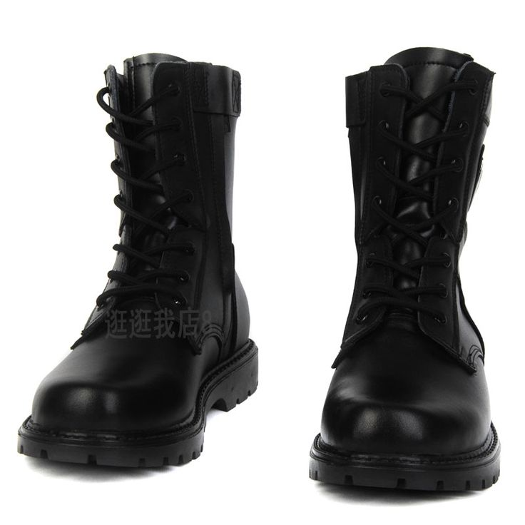 Round toe boots male boots the trend of fashion combat boots $59.11