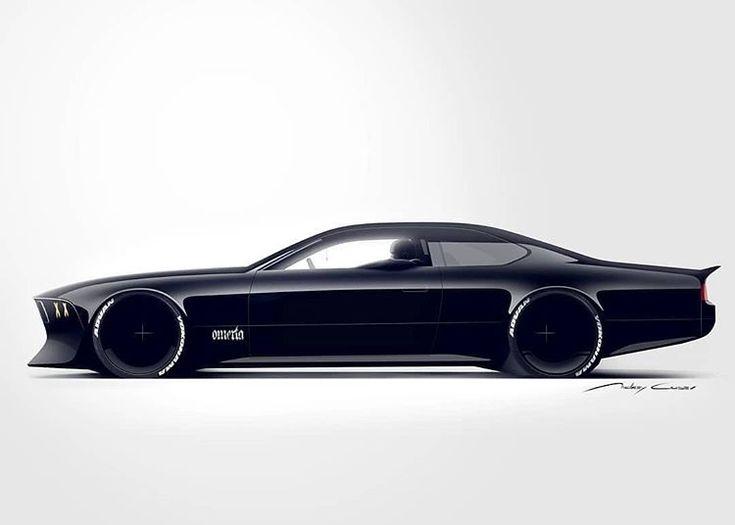 BMW E24 Homage by Andrey Gusev @andrey_gusev_design #cardesign #car #design #car…