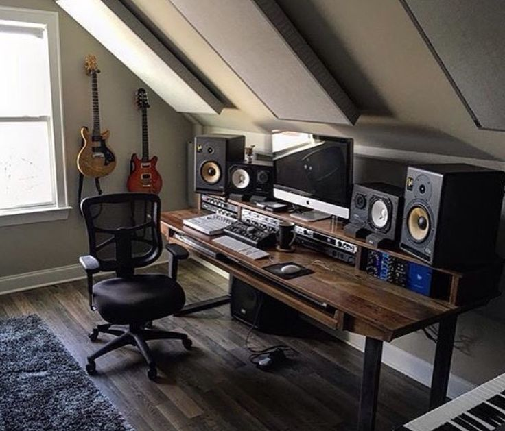 Studio In The Attic!