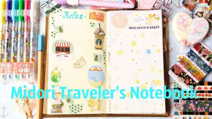 Мой Личный Дневник / Midori Traveler's Notebook
