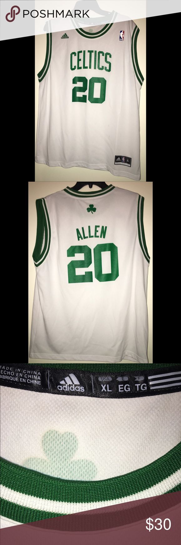 KIDS Ray Allen NBA Celtics 🍀 Jersey 2️⃣0️⃣ This is a KIDS Size XL authentic NBA Adidas 2️⃣0️⃣ Ray Allen Boston Celtics 🍀 jersey‼️ a classic cuz as u know he has retired 😕 Adidas Other