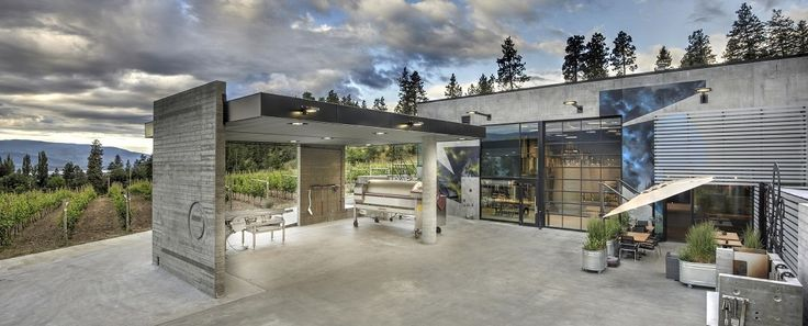Bottleneck Drive | Summerland, BC [Pictured: Okanagan Crush Pad Winery]