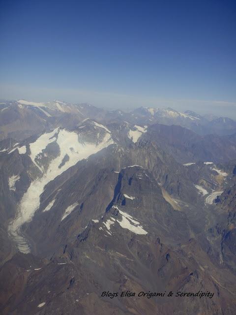 Traversée de la Cordillère des Andes, vol Buenos Aires - Santiago