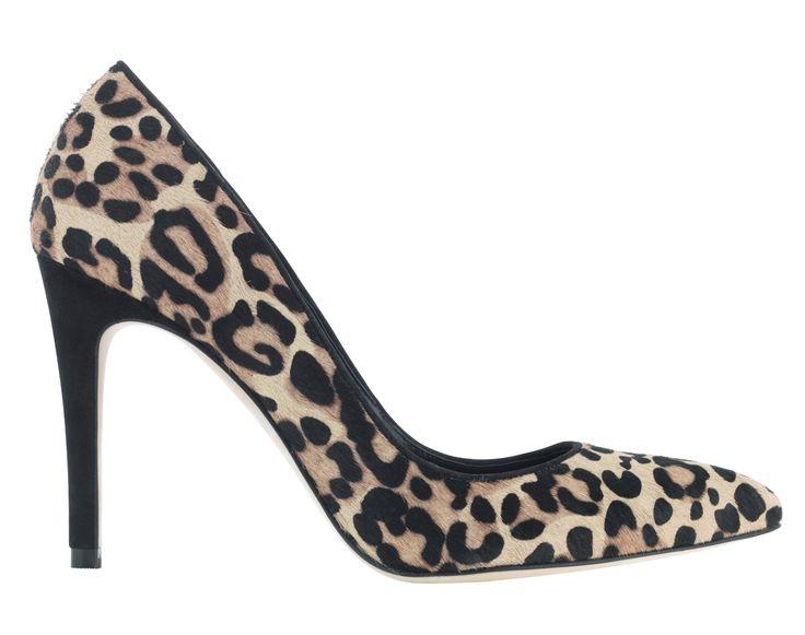 ANIMAL PRINT TREND - Autograph Shoes, £99, M&S http://www.marksandspencer.com/