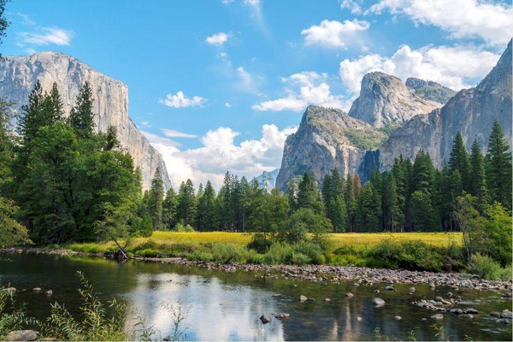 Vista panorámica de Yosemite