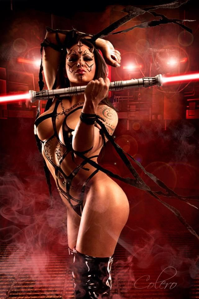 I'd Rave in this Sith costume!