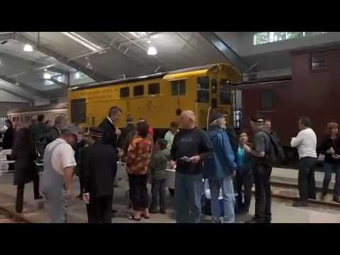 Sept 17, 2011 - The Northwest Railway Museum celebrates the Grand Opening of its 25,000-square-foot Train Shed Exhibit Building.