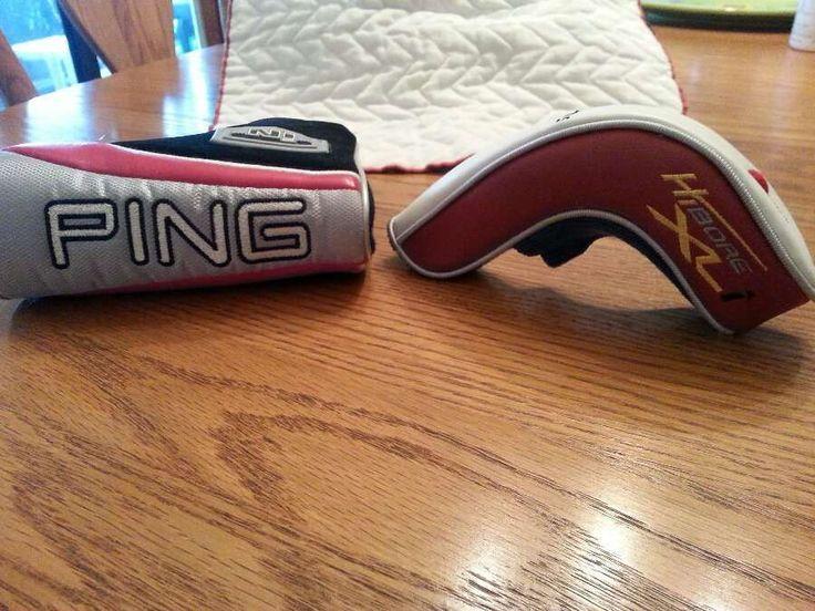 Ping Golf Club Head Covers U Choose IN or HI Bore XL i Great Value EUC #PING
