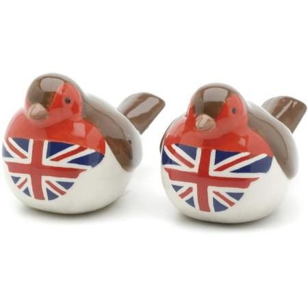 Photo of Union Jack Robins Salt & Pepper Sets