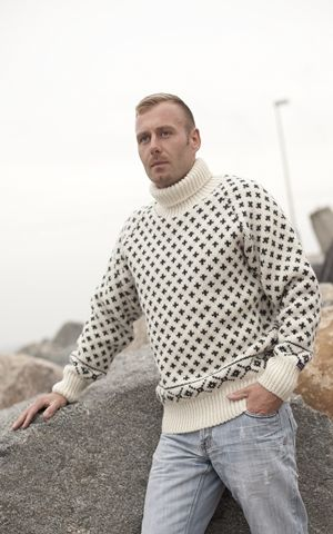 Icelandic sweater by Norwool, Norway, £72.95