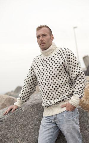 Icelandic sweater by Norwool, Norway, £72.95