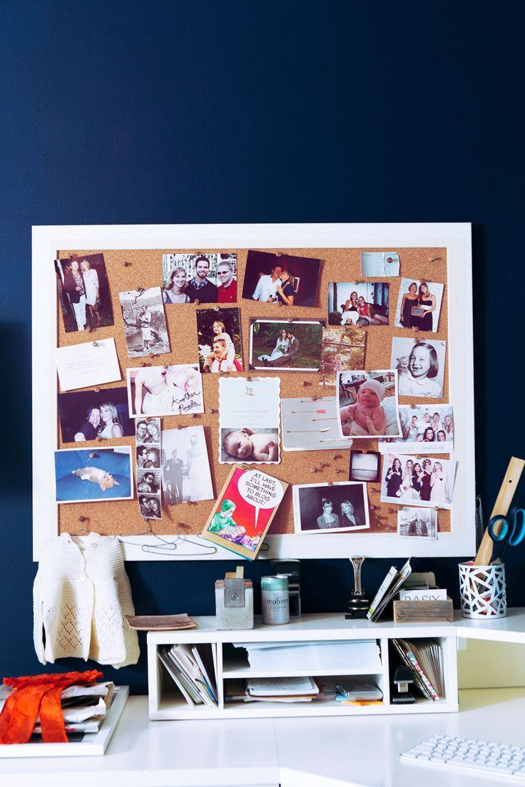 Desk organization and decor