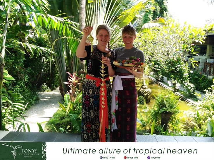 Experience your stay in Bali by doing Balinese activity. Tonys villas and resort provides you to have a beautiful moment during stay such as learn how to make Balinese offering and Balinese dress up. Join us every Wednesday and Saturday. . . . #bali #seminyak #tonysvilla #balineseactivity #holiday #vacation #travelblogger #lifestyle #balilife #balimagic #staydifferent #villainseminyak #bestmoment  www.balitonys.com