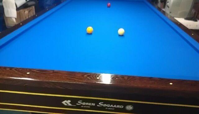 Advertisement Ebay Soren Sogaard Carom Billard Table Billard Table Pool Table Felt Antique Pool Tables