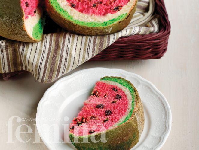 Watermelon Bread