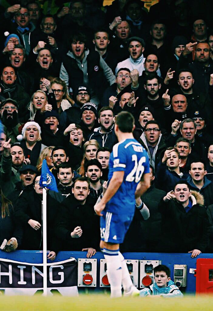 John Terry against West Ham. #captain #leader #legend #chelsea