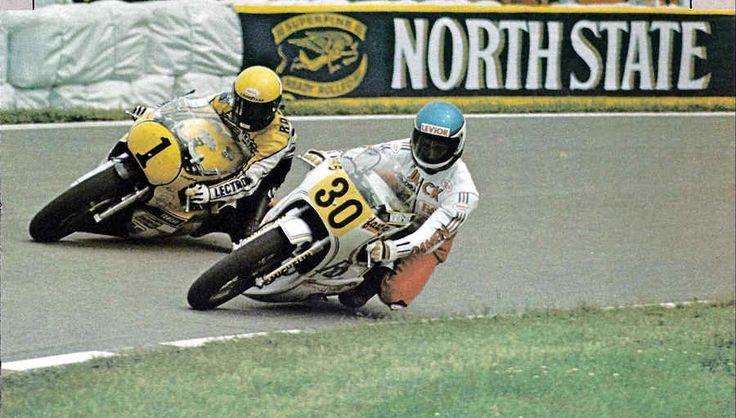 Jack Middelburg en Kenny Roberts.