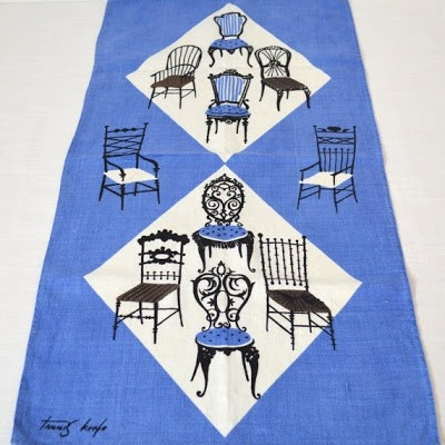 great mid-century textile designs by Tammis Keefe
