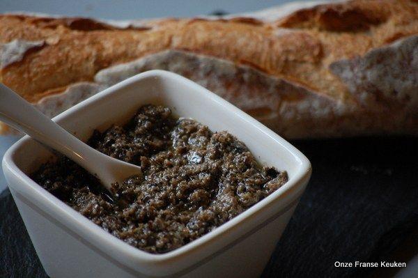 Zwarte olijven tapenade - Onze Franse keuken