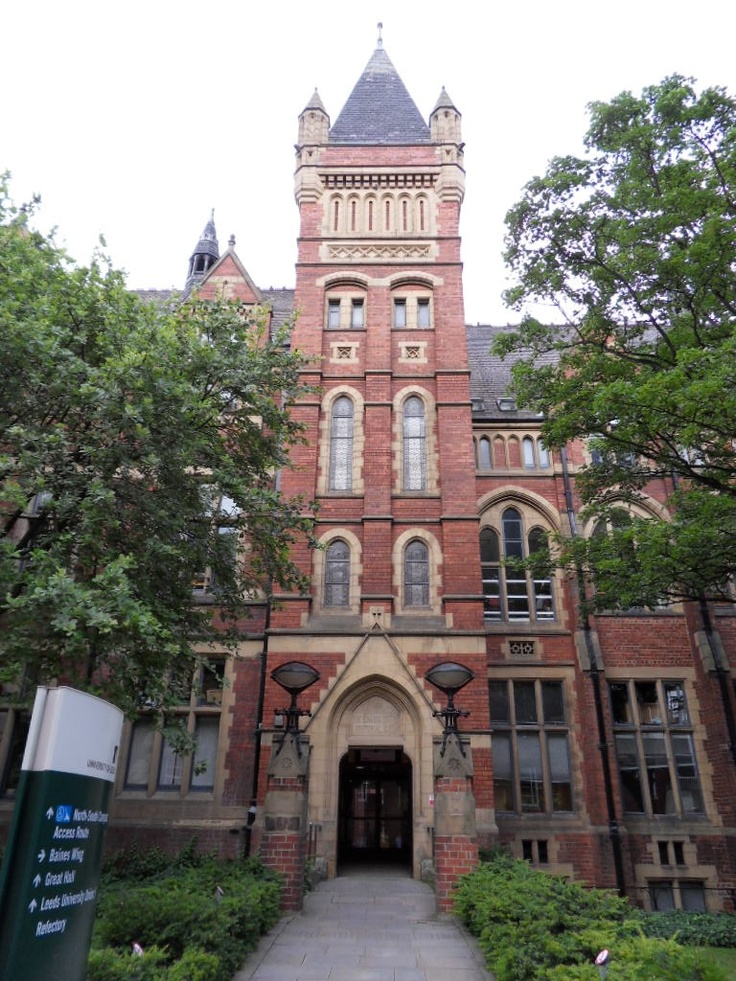Missing this place today. Leeds University - the most beautiful school i'll ever attend.