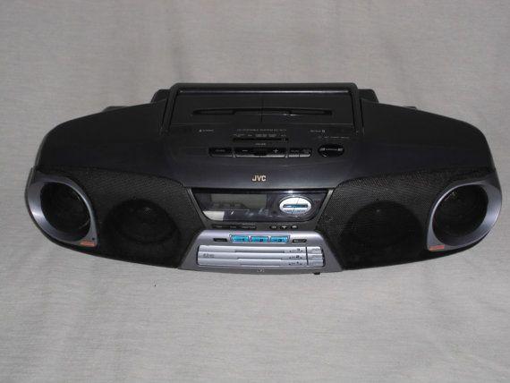 Tragbare Stereoanlage JVC RC-XC3BK  Radio / von nostalgiehauscom