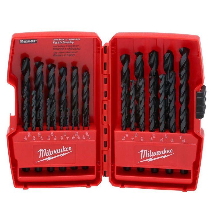 Milwaukee Thunderbolt Black Oxide Drill Bit Set (29-Piece)