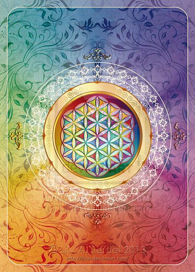 Flower of Life  by Lily A. Seidel ~Research the Flower of Life, the truth is amazing~