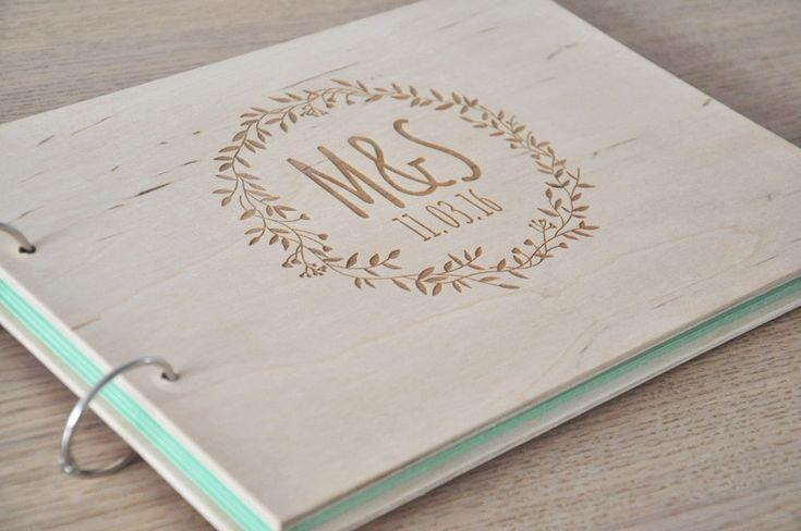 Hochzeitsgästebuch - Gästebuch - ein Designerstück von Guntars-Cimpa bei DaWanda